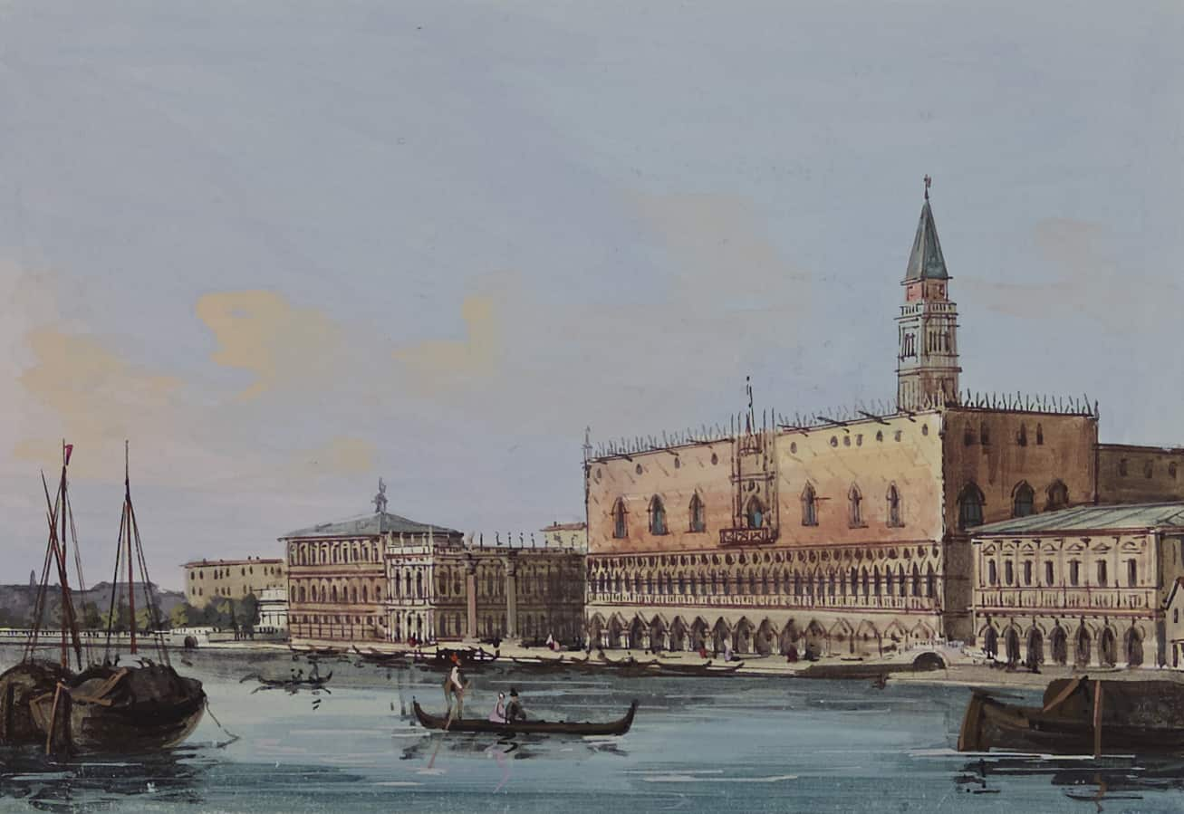 Masters 1l The Doge's Palace seen from the Sea F3644_186.2 P34