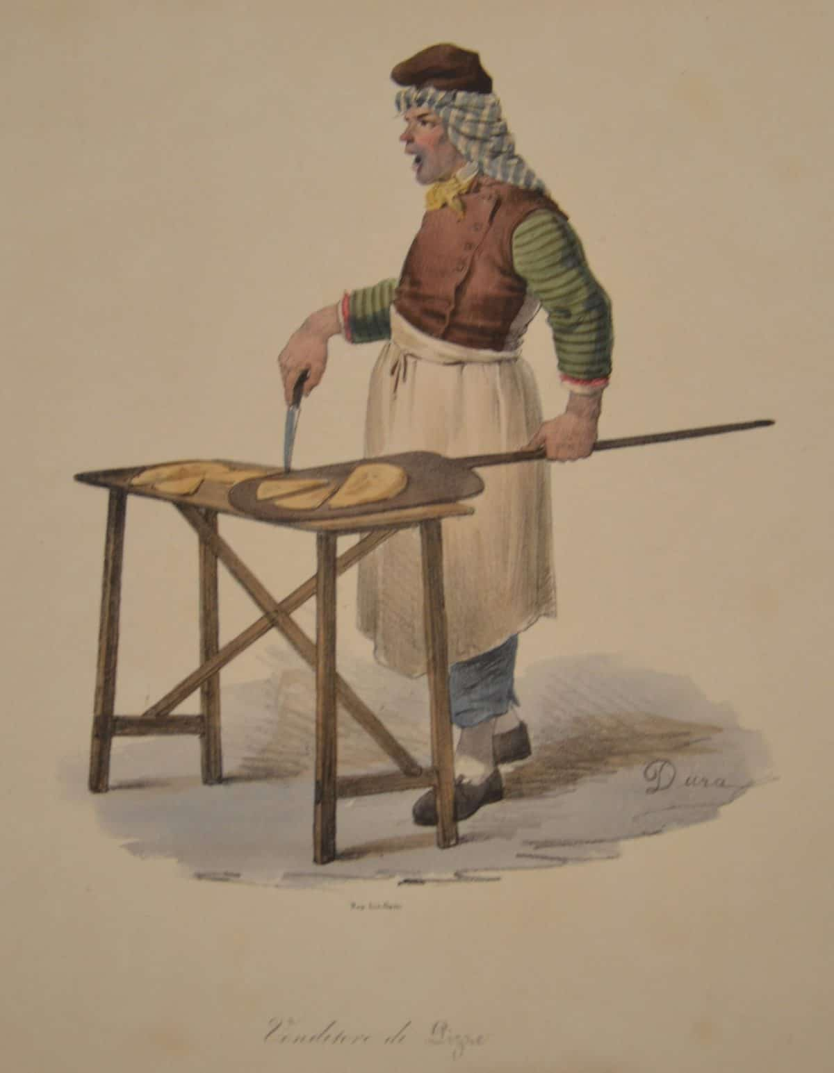 Masters 1o 180.1 - DURA, Gaetano - Venditore di Pizze