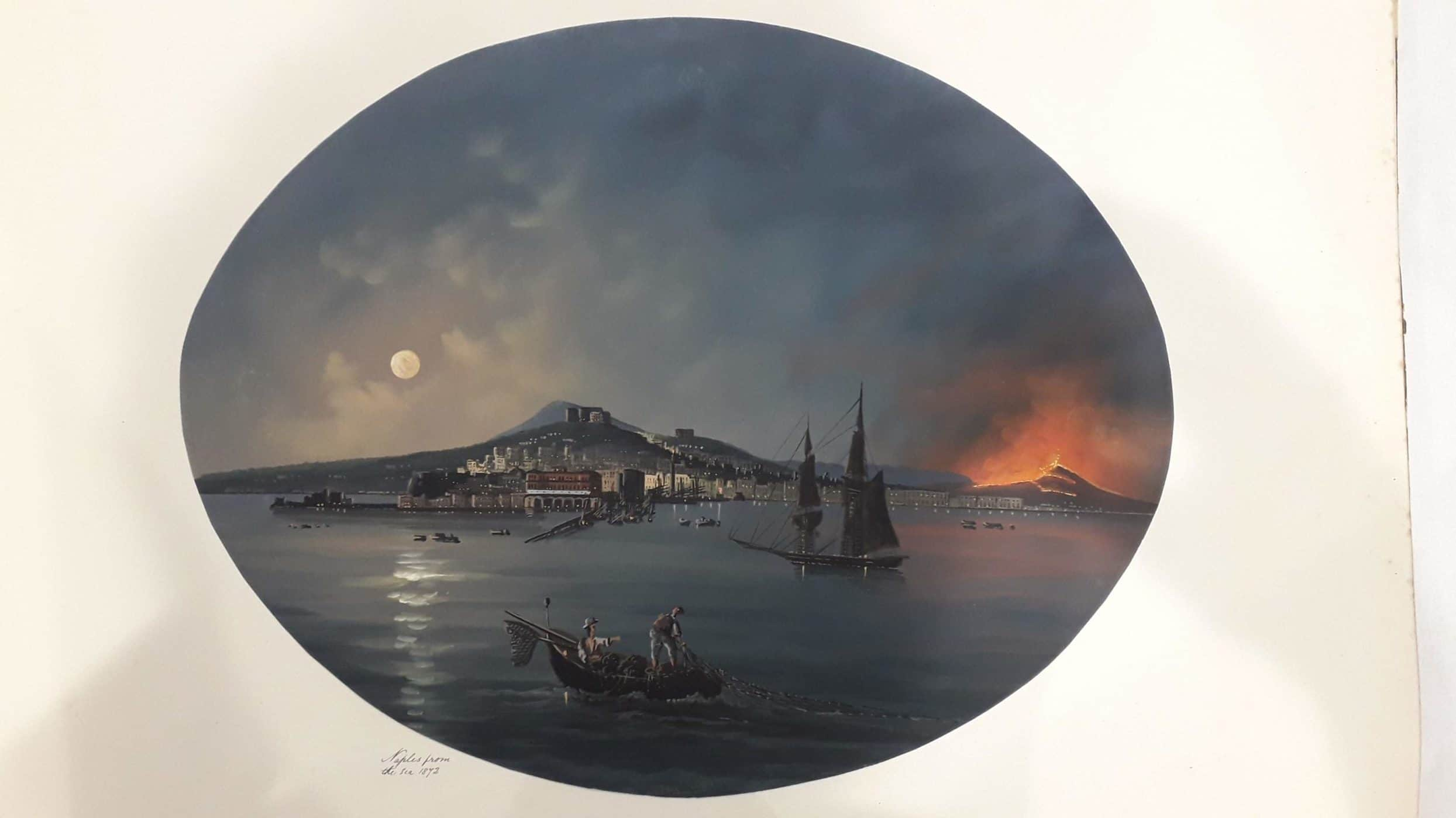 Masters 1q 13 Naples from the sea 1872