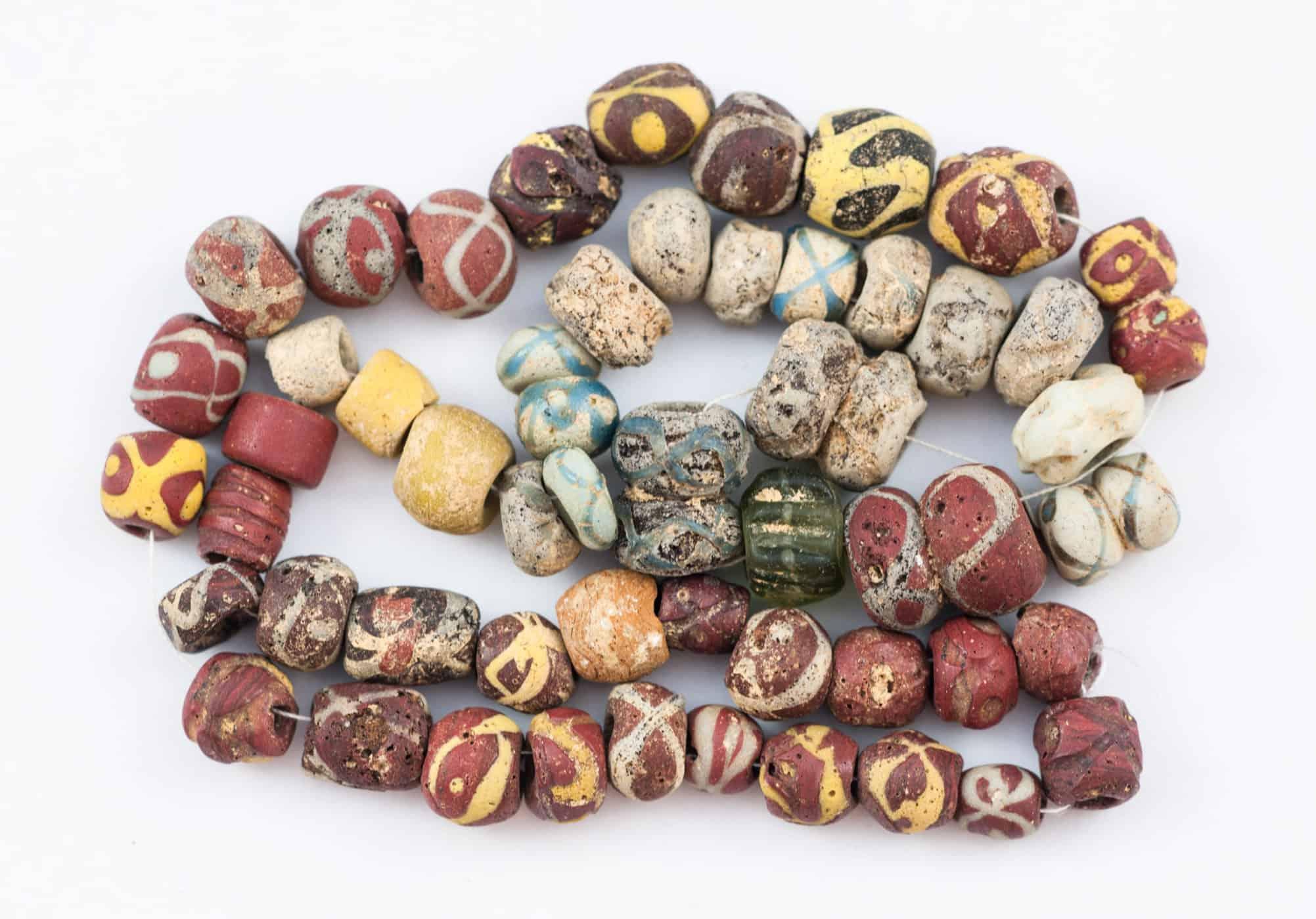 Anglo Saxon 3 beads