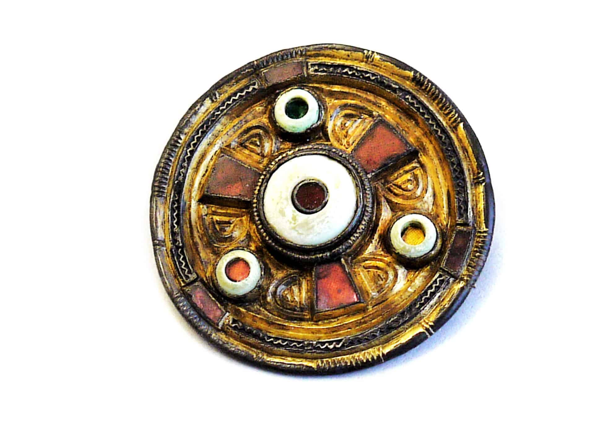 Anglo Saxon 4 disk brooch