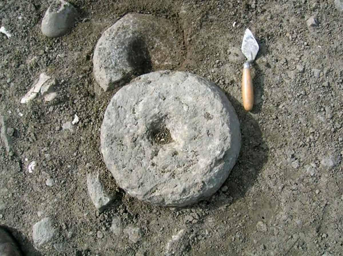 Iron Age quern stones
