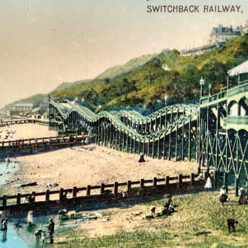 Seaside 11 Switchback Railway postcard