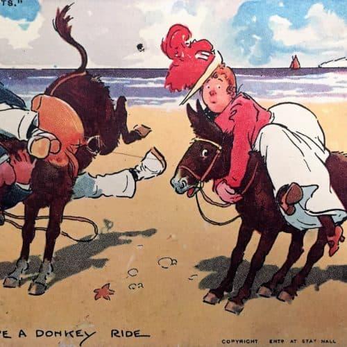 Seaside 11 Tom Browne donkey ride