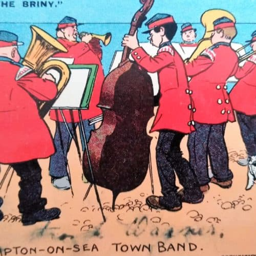 Seaside 11 Tom Browne town band