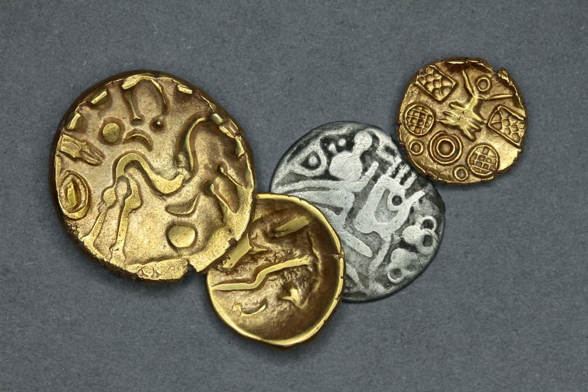 Stone Age to Iron Age 2 - Iron Age coins