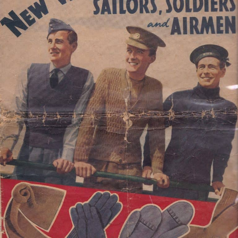 WW2 5 K2059 - New Woollies for our Sailors, Soldiers and Airmen