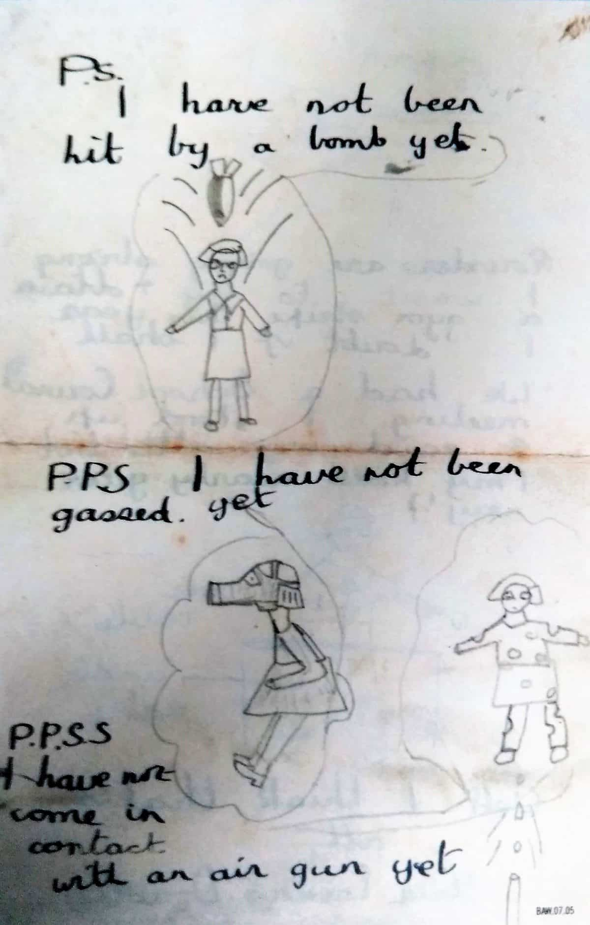 WW2 9 Evacuee letter Page 4 (cropped)