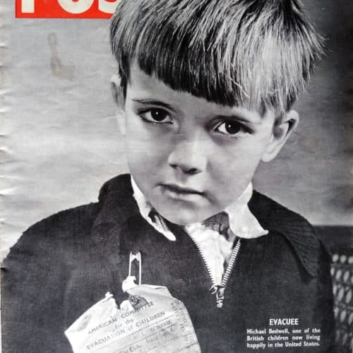 WW2 9 Picture Post evacuee cover (cropped)