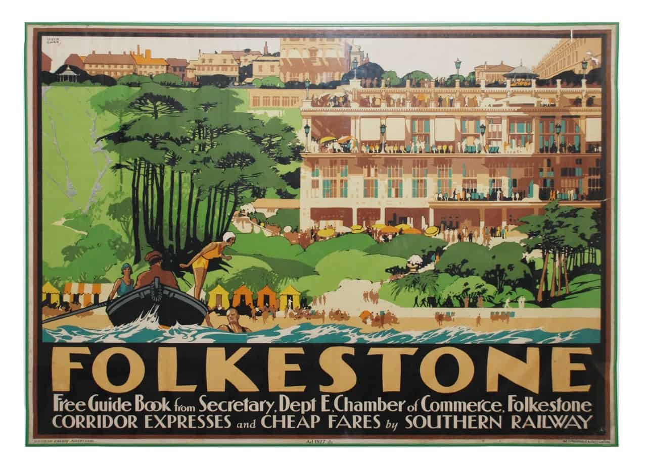 our folkestone poster