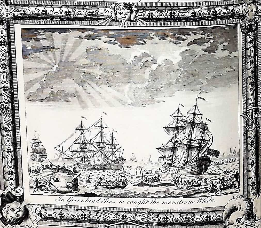Maritime 11 Masters Collection PCB5 Box 14 NO NUMBER - UNATTRIBUTED - In Greenland Seas is Caught the Monstous Whale