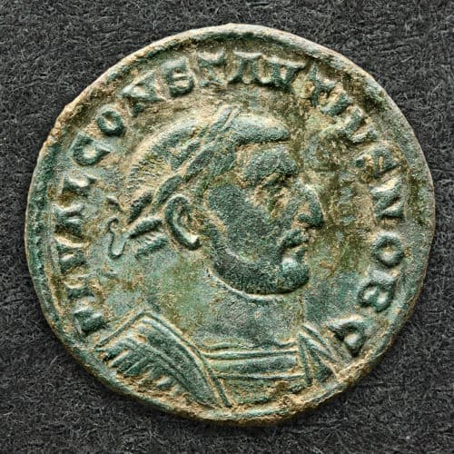 Romans 9 Coin of Emperor Constantius I