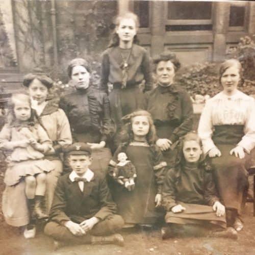 WW1 1 Lejeune family - Belgian refugees 1914