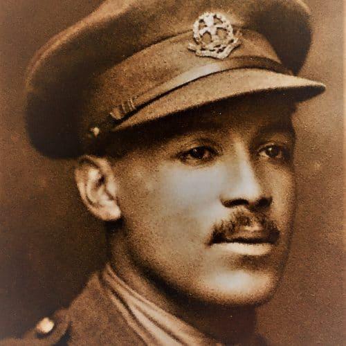 WW1 13 Walter Tull in WW1