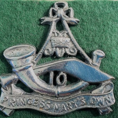 WW2 15 Princess Mary's Own Gurkhas cap badge WW2