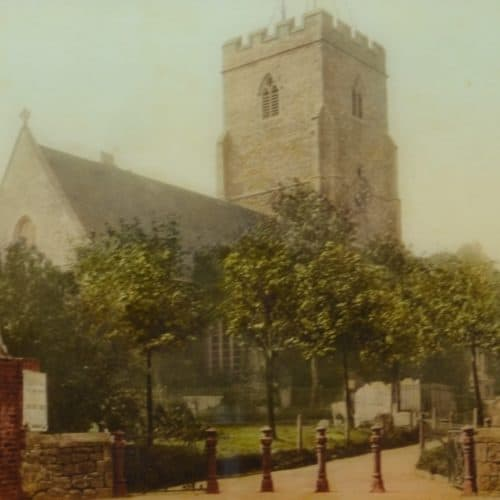 Anglo Saxon 12 F6318 St Marys & St Eanswythe Church