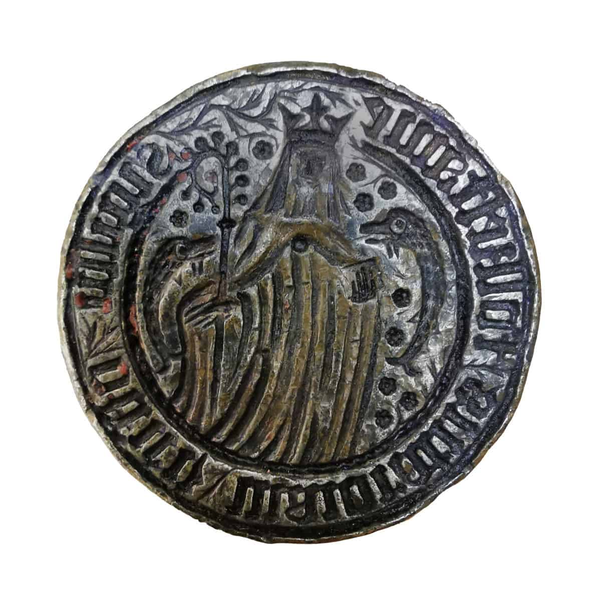 Anglo Saxon 12 IMG_20200507_111819 St Eanswythe seal