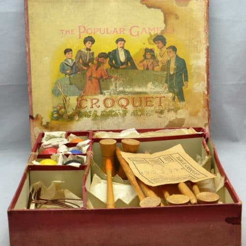 Cabinets of Curiosity 18c Table Croquet FM2017.22 2