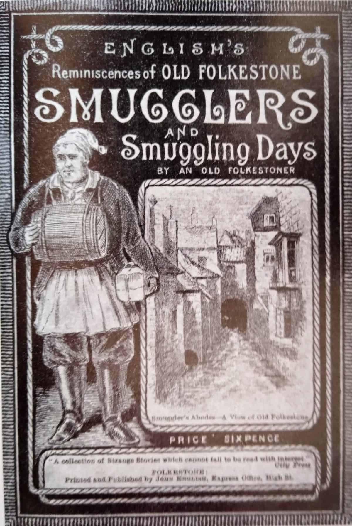 Maritime 5 Reminiscences of Old Folkestone Smugglers front cover