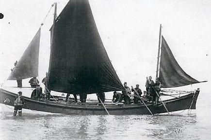 Maritime 7 Fokestone's 1st lifeboat