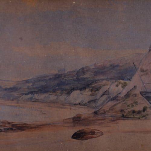 Maritime 9 F3899 Pelter Brig. Artist George Wallis 18-11-1851 (2) Art Store C3