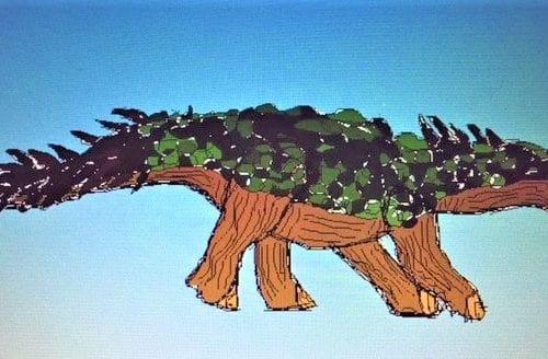 Rocks Resources Animated dinosaur