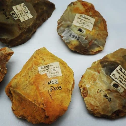 Stone Age to Iron Age 13 Palaeolithic hand axes from Swanscombe