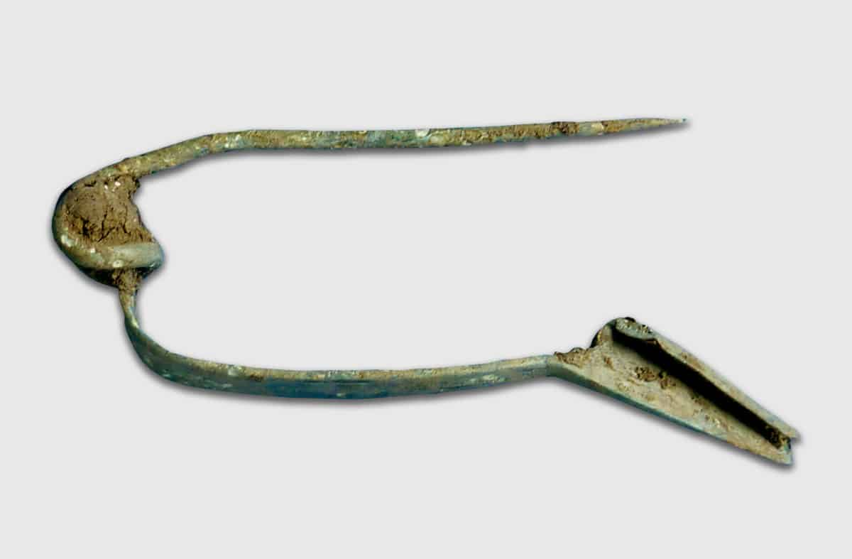 Stone Age to Iron Age 6 - Iron Age copper alloy brooch