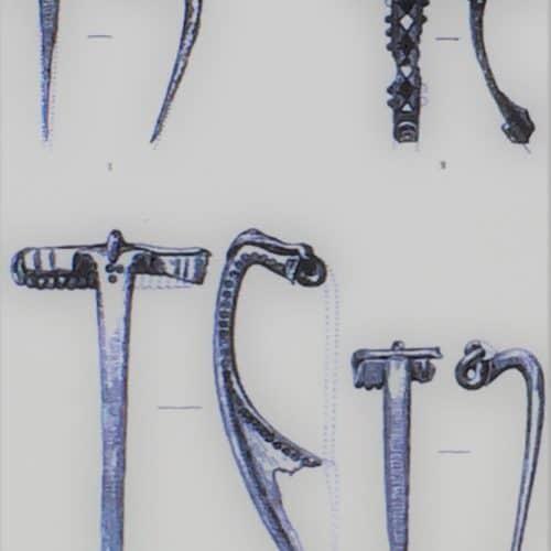 Stone Age to Iron Age 9 Cheriton urn-field - brooches