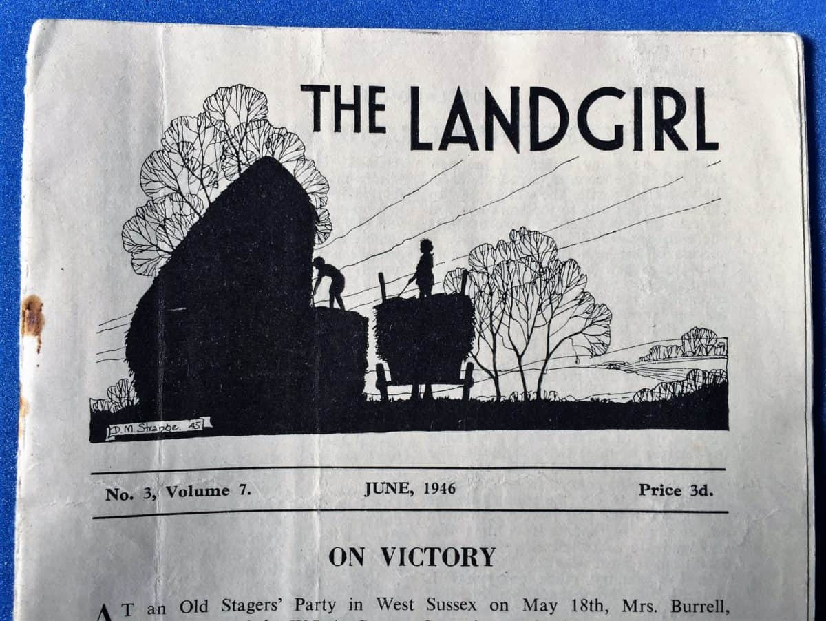 The Landgirl Magazine - On Victory cover