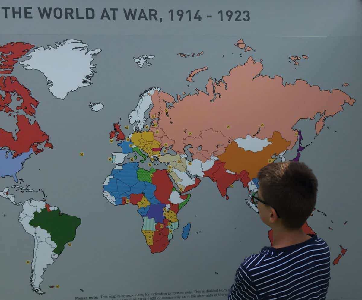 WW1 14 Over 100 countries fought in WW1