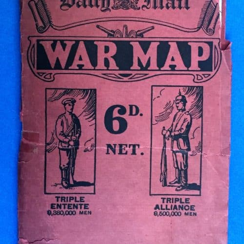WW1 3 Daily Mail war map front cover