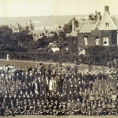 WW1 9 F6282 1916 photo on the Leas