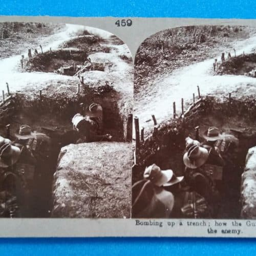WW1 Resources Gurkhas - bombing up a trench