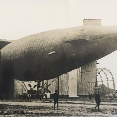 WW1 Resources HM Silver Queen airship before WW1