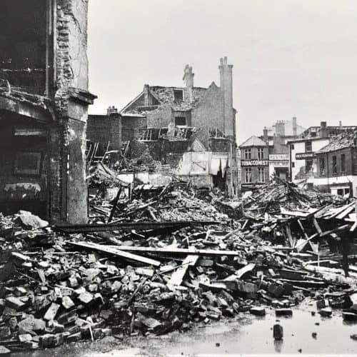 WW2 1 Beach Street Folkestone -worst WW2 air raid