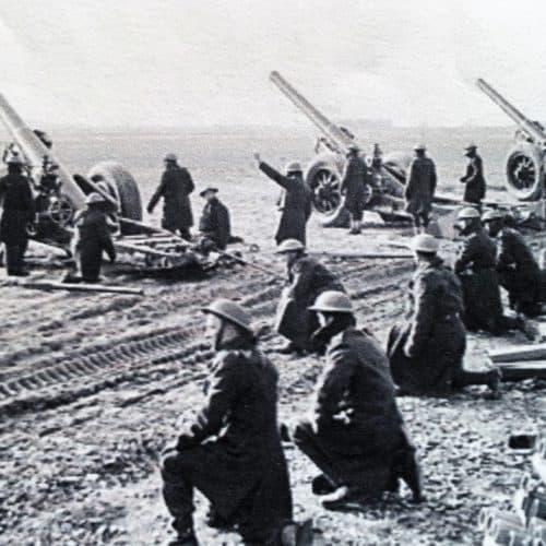 WW2 10 Gunners in France 1940