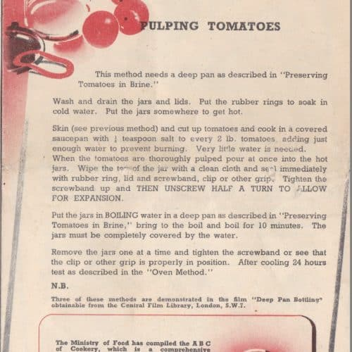 WW2 18 F5998.04 How to preserve tomatoes