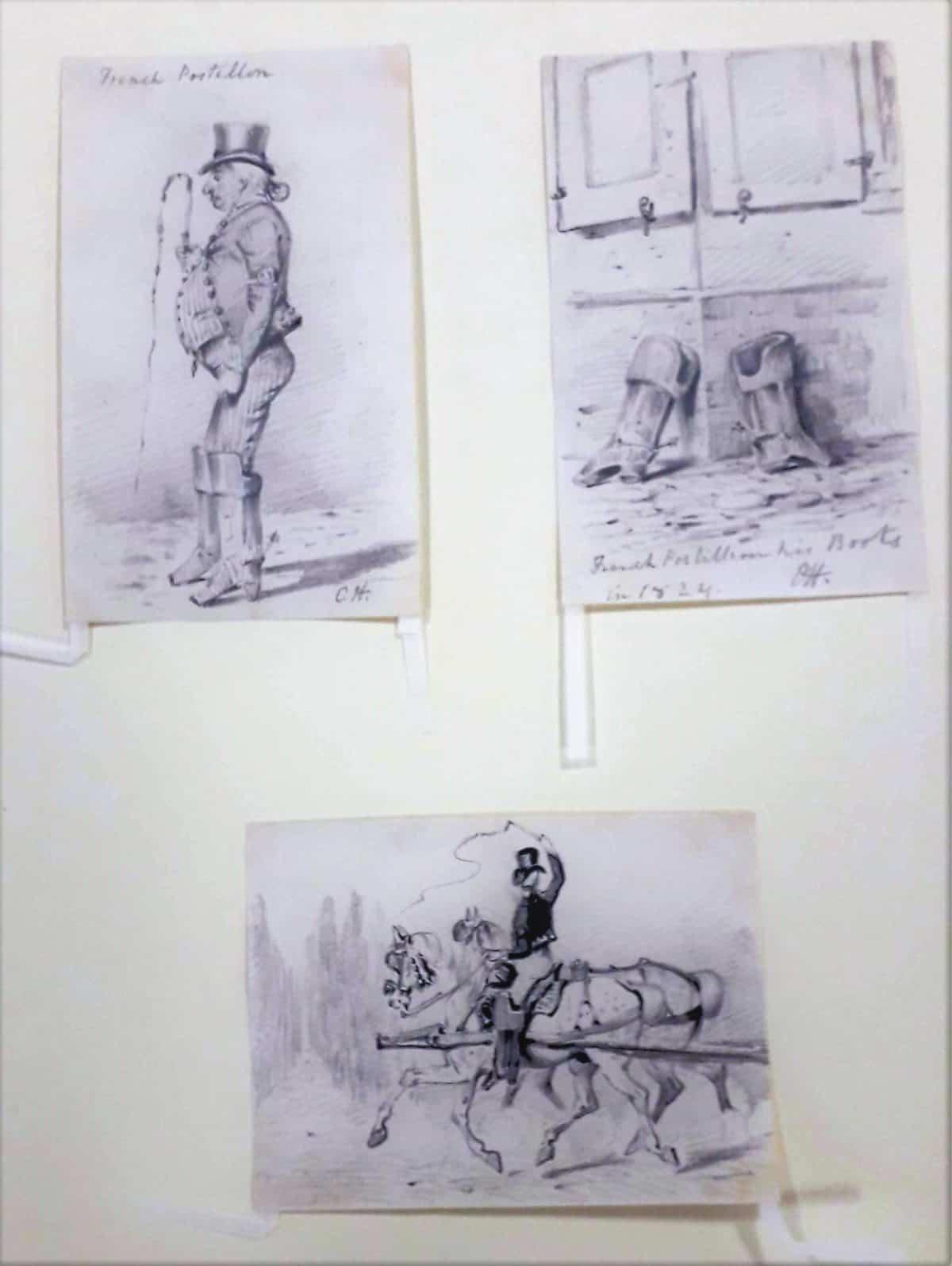 Master 12 144 - HENDERSON, Charles Cooper - French Postillion