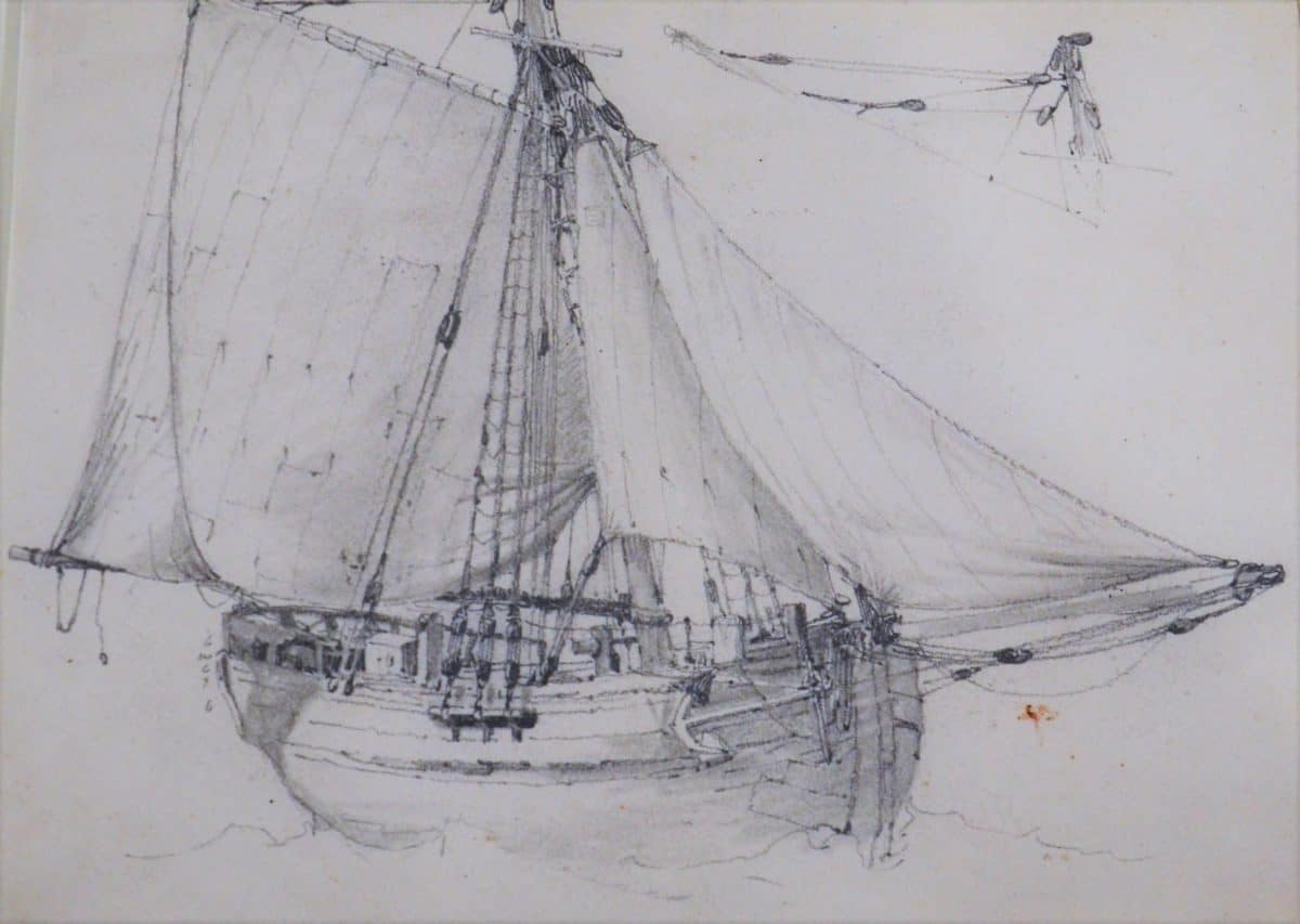 Master 5b 202.1 - PROUT, Samuel - Lugger