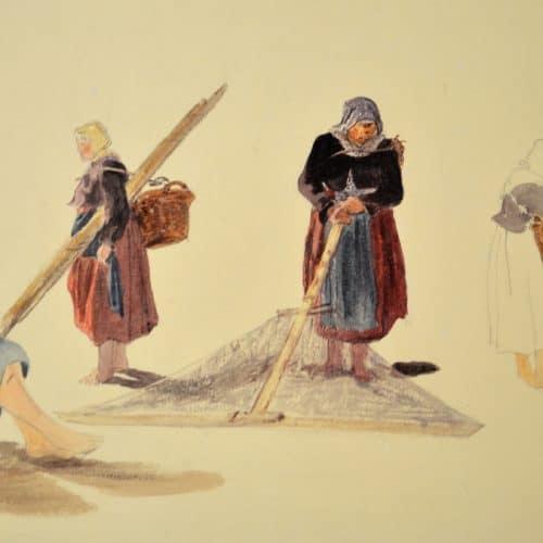 Master 5c 199 - COLLINS, William - Boulogne Fisherwomen