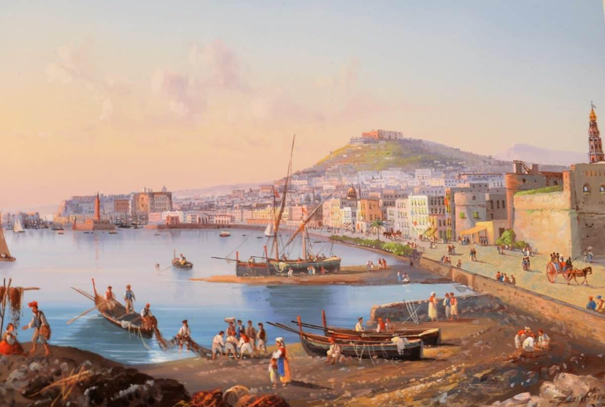 Master 5e 63 LA PIRA, Gioacchino - The Harbour, Naples