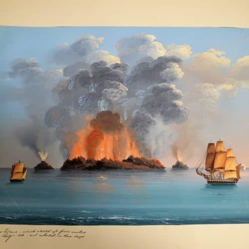 Master18j 54 Aqueous Volcano - which started up five miles from Siciliy