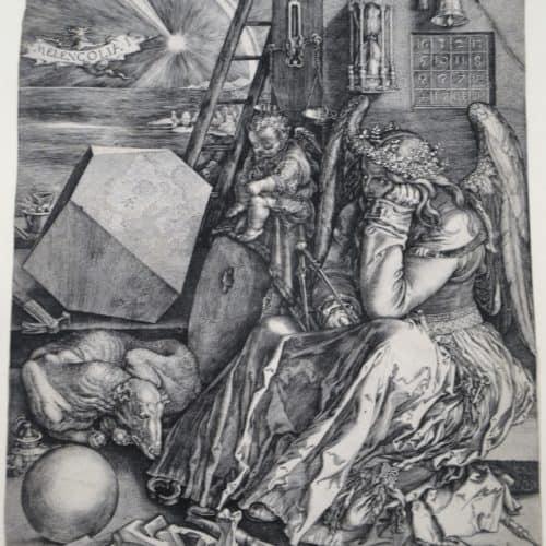 Masters 3 175 - DURER, Albrecht - Melancholia