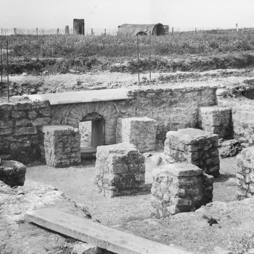 Romans Resources Hypocaust at Folkestone Roman Villa