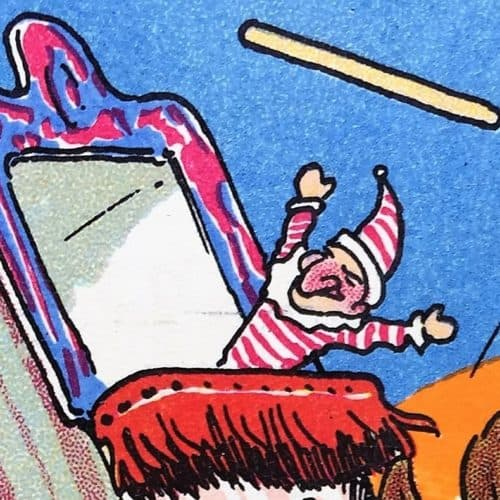 Seaside Holidays Resources Punch and Judy close-up