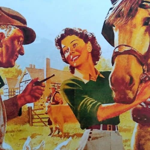 WW2 Resources Land Girls poster close-up