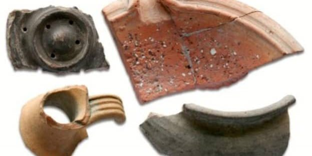 Romans 15 Pottery finds 1924 dig